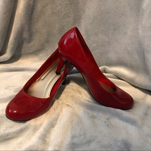 c0fa6a714 comfort plus by Predictions Shoes | Comfort Plus Red Heels | Poshmark